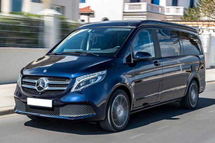 Mercedes V class с водителелем (5+1)